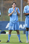 12 November 2008: UNC's Cameron Brown. The University of Maryland defeated the University of North Carolina 1-0 at Koka Booth Stadium at WakeMed Soccer Park in Cary, NC in a men's ACC tournament quarterfinal game.