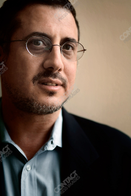 Washington Post reporter Bart Gelman, in his NY offices at NYU, New York. May 1, 2008