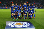 Leicester's team group during the Champions League group B match at the King Power Stadium, Leicester. Picture date November 22nd, 2016 Pic David Klein/Sportimage