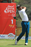 Hugo Leon (CHI) during the third round of the Magical Kenya Open presented by ABSA, played at Karen Country Club, Nairobi, Kenya. 16/03/2019<br /> Picture: Golffile | Phil Inglis<br /> <br /> <br /> All photo usage must carry mandatory copyright credit (&copy; Golffile | Phil Inglis)