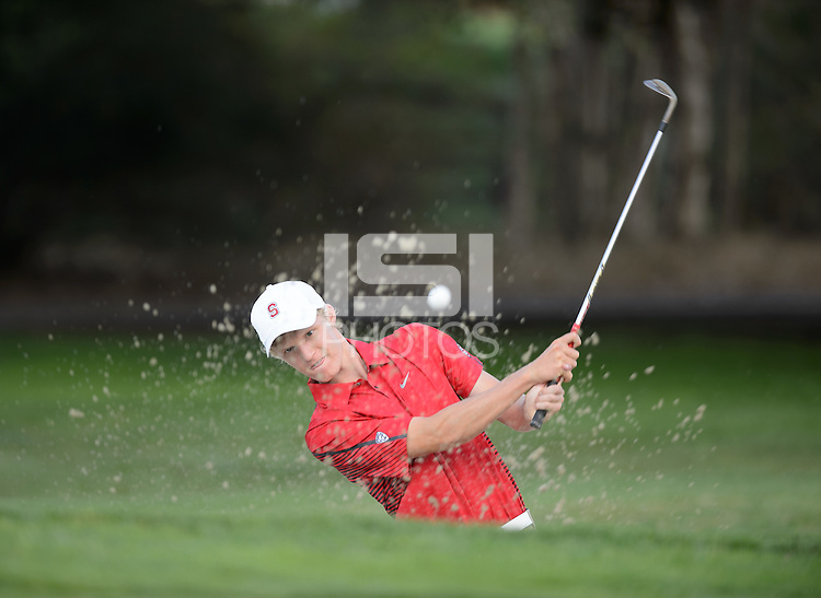 Stanford, California - Thursday, September 25, 2014: The Stanford Golf Team.