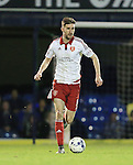 Sheffield United's Chris Basham in action during the League One match at Roots Hall Stadium.  Photo credit should read: David Klein/Sportimage