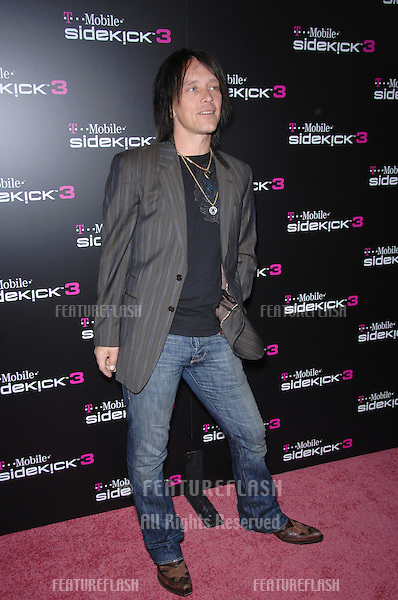 BILLY MORRISON at party in Beverly Hills to launch the new limited edition T-Mobile Sidekick 3 designs..October 12, 2006  Los Angeles, CA.Picture: Paul Smith / Featureflash