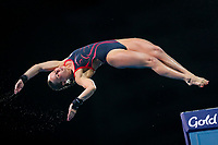 Picture by Alex Whitehead/SWpix.com - 12/04/2018 - Commonwealth Games - Diving - Optus Aquatics Centre, Gold Coast, Australia - Robyn Birch of England competes in the Women's 10m Platform Final.
