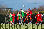 Action from the Oscar Traynor Cup Group 4 match Kerry DL against Cork in Mounthawk Park on Sunday