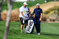 Tyrrell Hatton (ENG) on the 15th fairway during the 1st round of the Waste Management Phoenix Open, TPC Scottsdale, Scottsdale, Arisona, USA. 31/01/2019.<br /> Picture Fran Caffrey / Golffile.ie<br /> <br /> All photo usage must carry mandatory copyright credit (© Golffile | Fran Caffrey)