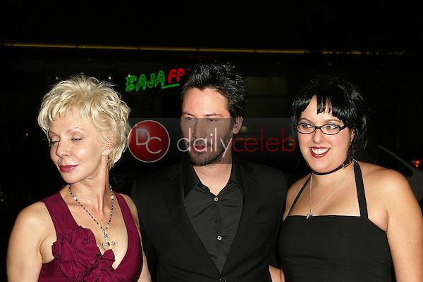 Patricia Taylor, Keanu Reeves and Kim Reeves