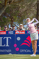 Nelly Korda (USA) during the third round of the ISPS Handa Women&rsquo;s Australian Open, The Grange Golf Club, Adelaide SA 5022, Australia, on Saturday 16th February 2019.<br /> <br /> Picture: Golffile | David Brand<br /> <br /> <br /> All photo usage must carry mandatory copyright credit (&copy; Golffile | David Brand)