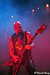 Slayer live in Los Angeles at the Gibson Amphitheater 10/21/2010.