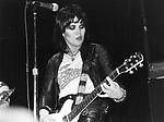 Joan Jett 1980 The Blackhearts.© Chris Walter.