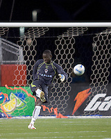 Colorado Rapids goalkeeper Bouna Coundoul (1). The New England Revolution defeated the Colorado Rapids, 1-0, at Gillette Stadium in Foxboro, MA on September 29, 2007.