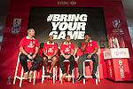 Waisale Serevi, Gordon French, George Grega, Jason Robinson at The Village During HSBC Hong Kong Rugby Sevens 2016 on 10 April 2016 at Hong Kong Stadium in Hong Kong, China. Photo by Moses Ng / Power Sport Images