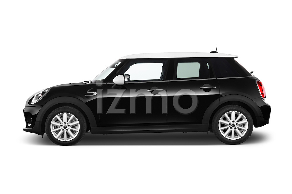 Car Driver side profile view of a 2015 MINI Mini Cooper 5 Door Hatchback 2WD Side View