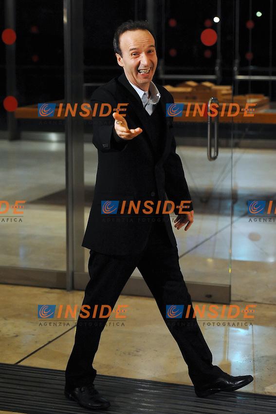 Roberto Benigni.Roma 13/4/2012 Auditorium.To Rome with Love - World Premiere.Foto Insidefoto Antonietta Baldassarre