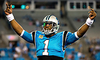 10/12/17: Photography of the Carolina Panthers v. The Philadelphia Eagles, during their Thursday night NFL game at Bank of America Stadium in Charlotte, North Carolina.<br /> <br /> Charlotte Photographer - PatrickSchneiderPhoto.com