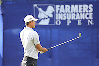 24 JAN 13  James Hahn during Thursdays First Round of The Farmers Insurance Open at Torrey Pines Golf Course in La Jolla, California. (photo:  kenneth e.dennis / kendennisphoto.com)