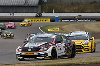 #19 Bobby Thompson Trade Price Cars with Team HARD Racing Volkswagen CC during BTCC Race 2  as part of the Dunlop MSA British Touring Car Championship - Rockingham 2018 at Rockingham, Corby, Northamptonshire, United Kingdom. August 12 2018. World Copyright Peter Taylor/PSP. Copy of publication required for printed pictures.