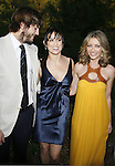 Actor Ashton Kutcher, actress Demi Moore and actres Rebecca Gayheart arrive at 7th Annual Chrysalis Butterfly Ball on May 31, 2008 at a Private Residence in Los Angeles, California.