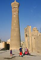 The Kalyan Minaret at Bukhara, Uzbekistan