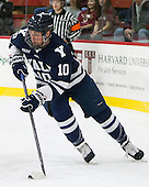 Mitch Witek (Yale - 10) - The visiting Yale University Bulldogs defeated the Harvard University Crimson 2-1 (EN) on Saturday, November 15, 2014, at Bright-Landry Hockey Center in Cambridge, Massachusetts.