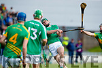 Eoin Ross Ballyduff in action against  Lixnaw in the Senior County Hurling Final in Austin Stack Park on Sunday