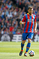 James McArthur of Crystal Palace during the EPL - Premier League match between Crystal Palace and West Bromwich Albion at Selhurst Park, London, England on 13 May 2018. Photo by Carlton Myrie / PRiME Media Images.