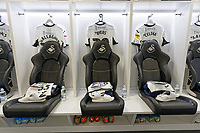 The Swansea City changing room prior to the Sky Bet Championship match between Swansea City and Wigan Athletic at the Liberty Stadium, Swansea, Wales, UK. Saturday 19 January 2020