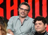 PASADENA, CA - FEBRUARY 4: Creator/EP/Showrunner/Writer/Director Jemaine Clement during the WHAT WE DO IN THE SHADOWS panel for the 2019 FX Networks Television Critics Association Winter Press Tour at The Langham Huntington Hotel on February 4, 2019 in Pasadena, California. (Photo by Frank Micelotta/FX/PictureGroup)