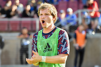 STANFORD, CA - JUNE 29: Florian Jungwirth #23 during a Major League Soccer (MLS) match between the San Jose Earthquakes and the LA Galaxy on June 29, 2019 at Stanford Stadium in Stanford, California.
