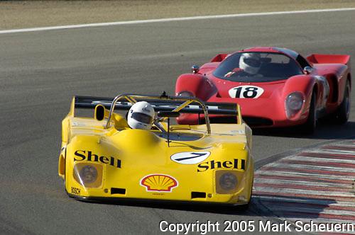 32nd Rolex Monterey Historic Automobile Races, 2005