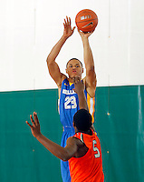 April 10, 2011 - Hampton, VA. USA;  Justin Anderson participates in the 2011 Elite Youth Basketball League at the Boo Williams Sports Complex. Photo/Andrew Shurtleff