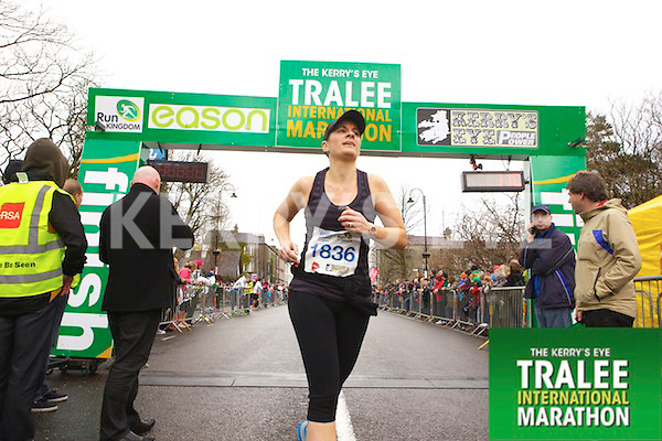 Mags Quillinan 1836, who took part in the Kerry's Eye Tralee International Marathon on Sunday 16th March 2014.