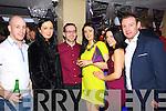 Jason Costello (Tarbert) Rachel O'Connor (Castleisland) Jacko Reidy (Castleisland) Linda Cremins (Castleisland) Georgina Reidy (Castleisland) and Niall O'Connor (Castleisland) enjoying the New Year's Eve celebrations at the Kube bar, Killarney on Tuesday night.