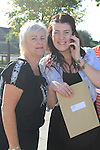 Aime Gregan and Her mother Mel Leaving cert result..Picture Fran Caffrey www.newsfile.ie