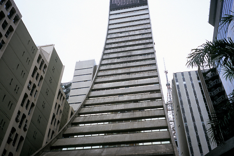 Avenida Paulista, Sao Paulo, Brazil, october 2012.