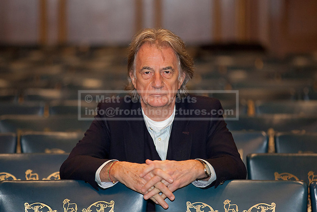 02/11/2012. London, UK. Fashion designer Paul Smith is seen ahead of a textiles conference at the Clothworkers Hall in London today (02/11/12). The conference called 'A New Dawn - Rebuilding UK Textile Manufacturing' explores the issues forcing the textile industry including the benefits of sourcing and manufacturing in the UK. Photo credit: Matt Cetti-Roberts