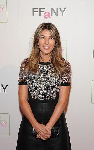 New York,NY-October 8: Nina Garcia at QVC presents 'FFANY Shoes on Sale' at Waldorf Astoria Hotel ln New York City on October 8, 2014. Credit: John Palmer/MediaPunch