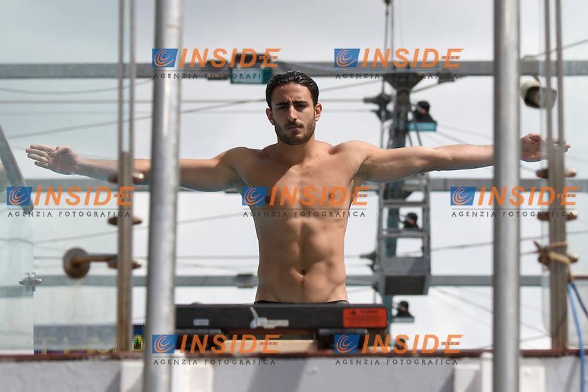 Giovanni TOCCI ITA <br /> 3m Springboard men <br /> Roma 20-06-2016 Stadio del Nuoto Foro Italico Tuffi Campionati Italiani <br /> Foto Andrea Staccioli Insidefoto