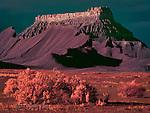 Factory Butte, Utah (Infrared)