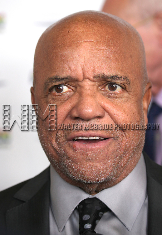 Berry Gordy Jr. attending the Broadway World Premiere Launch for 'Motown: The Musical' at the Nederlander in New York. Sept. 27, 2012