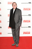 writer, Ian Martin at the premiere of &quot;The Death of Stalin&quot; at the Curzon Chelsea, London, UK. <br /> 17 October  2017<br /> Picture: Steve Vas/Featureflash/SilverHub 0208 004 5359 sales@silverhubmedia.com
