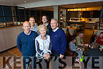Der and Marguerite O'Sullivan with sons Alan, Bryan and John who are officially reopening Benners Hotel tomorrow (Friday).