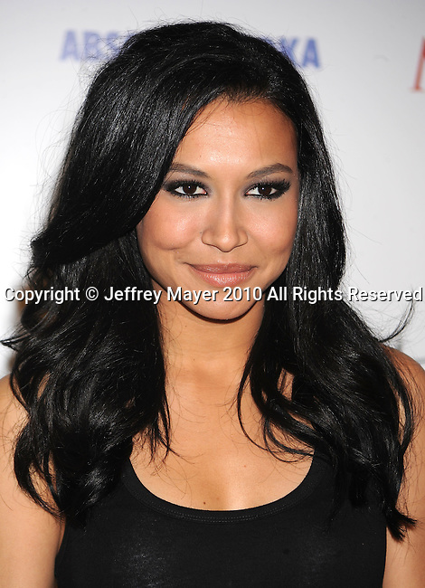 LOS ANGELES, CA. - May 19: Naya Rivera arrives at the 11th Annual MAXIM HOT 100 Party at Paramount Studios on May 19, 2010 in Los Angeles, California.