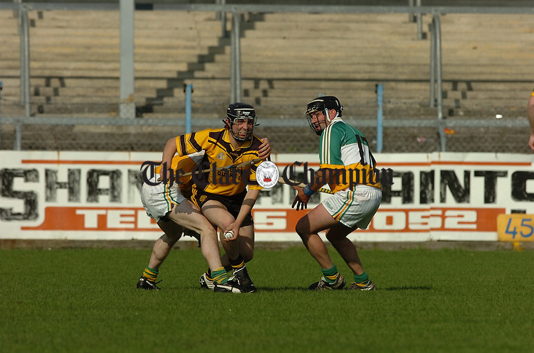 Intermediate Hurling Semi final Feakle v Broadford at Cusack Park.Pic Arthur Ellis.
