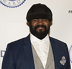 WASHINGTON, DC - JANUARY 7: Vocalist Gregory Porter attends The Lincoln Awards: A Concert For Verterns & The Military Family presented by The Friars Foundation at The John F. Kennedy Center for the Performing Arts on January 7, 2015 in Washington, D.C. Photo Credit: Morris Melvin / Retna Ltd.