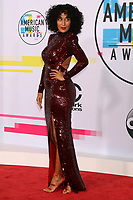 LOS ANGELES, CA - NOVEMBER 19: Tracee Ellis Ross at the 2017 American Music Awards at Microsoft Theater on November 19, 2017 in Los Angeles, California. Credit: David Edwards/MediaPunch /NortePhoto.com