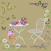Isabella, MODERN, paintings+++++,ITKE045258-LUCA,#n# moderno, arte, illustrations, pinturas napkins ,everyday