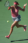 Victoria Azarenka (BLR) moves into the finals by defeating Flavia Pannetta 6-4, 6-2 at the US Open being played at USTA Billie Jean King National Tennis Center in Flushing, NY on September 6, 2013