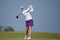 Brittany Altomare (USA) watches her tee shot on 2 during the round 3 of the Volunteers of America Texas Classic, the Old American Golf Club, The Colony, Texas, USA. 10/5/2019.<br /> Picture: Golffile   Ken Murray<br /> <br /> <br /> All photo usage must carry mandatory copyright credit (© Golffile   Ken Murray)
