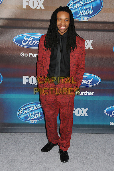 11 March 2015 - West Hollywood, California - Qaasim Middleton. American Idol Season 14 Finalists Party held at The District. <br /> CAP/ADM/BP<br /> &copy;BP/ADM/Capital Pictures